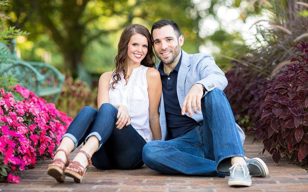 Tulsa Engagement Photographers | Alexis & Ryan's Engagement Photography