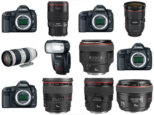 Cameras Our Tulsa Wedding Photography Gear