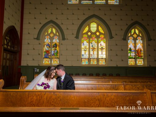 Sarah & Jeff's Holy Family Cathedral Wedding